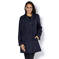 Centigrade Bonded Coat with Striped Inner Lining