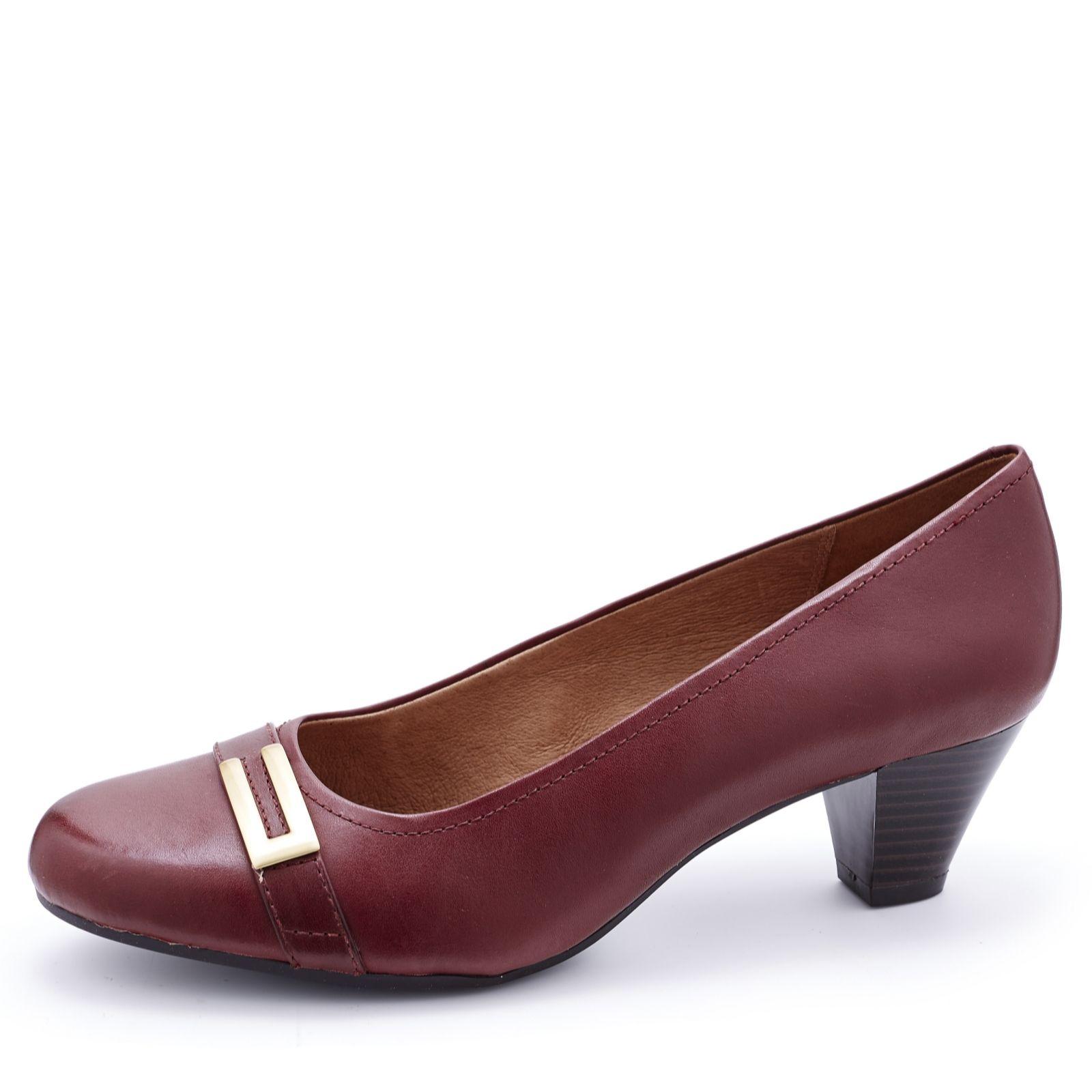 Wide fit sandals shoes uk - Clarks Fearne Shine Court Shoe Wide Fit 158247