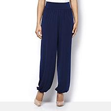 Kim & Co Brazil Knit Harem Trouser with Elasticated Cuff