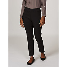 MarlaWynne Flatter Fit Skinny Trousers with Front Seam