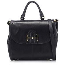 Tignanello Loredo Vintage Leather  FlapCossbody Bag & RFID Protection