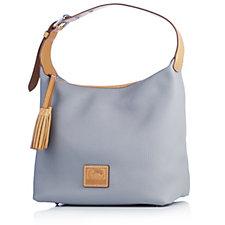 Dooney & Bourke Patterson Paige Pebble Leather Hobo Bag