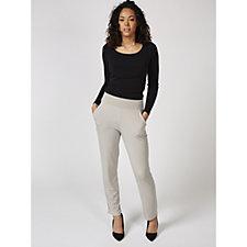 Kim & Co Brazil Knit Slim Leg Trousers with Pockets