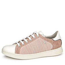 Geox Jaysen Knitted Lace Up Trainers