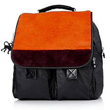 Kipling Marise Backpack with Faux Fur Trim