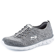 Skechers Sport Active Glider Electricity Bungee Slip On with Memory Foam