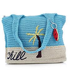 The Sak Casual Classic Large Crochet Tote Bag
