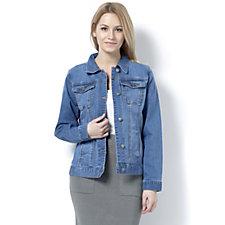 Women with Control Denim Jacket