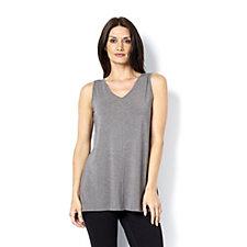 H by Halston Essentials Asymmetrical Hem Vest