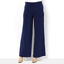 Kim & Co Brazil Knit Regular Length Palazzo Pants