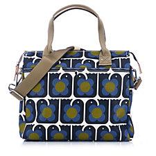 Orla Kiely Love Birds Zip Messenger Bag
