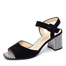 Peter Kaiser Pearl Stripe Open Toe Strappy Sandal