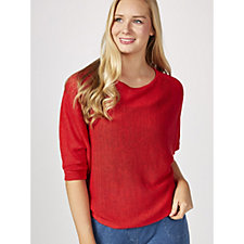 173648 - Phase Eight Delmi Linen Knit Batwing Jumper