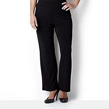 Kim & Co Petite Stretch Crepe Straight Leg Trouser
