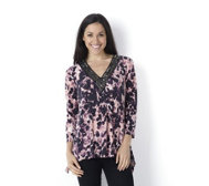 Fashion by Together Watercolour Print Tunic