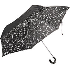 Lulu Guinness Super Slim Roughly Cut Out Spot Umbrella