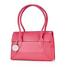 156849 - Radley London Border Medium Flapover Leather Double Handled Tote Bag