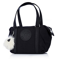 Kipling Art S Premium Padded Tote Bag with Monkey Key Charm