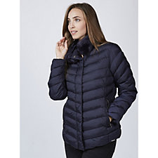 Rino & Pelle Faux Fur Neck Padded Jacket