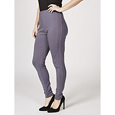 Antthony Designs Ponte Leggings with Side Stripe Detail