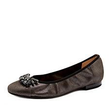 Peter Kaiser Belta Faux Jewel Trim Ballerina Shoe