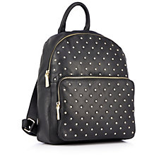 Ashwood Leather Backpack with Micro Studs