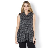 Yong Kim Knitted Sleeveless Cowl Neck Top