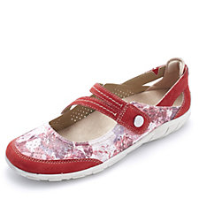 Earth Spirit Maryland Floral Crossover Strap Pump