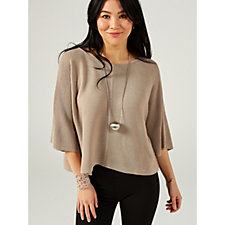 MarlaWynne Link Stitch Popover Top
