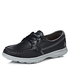 Skechers GO STEP Shore Embossed Perform Tex Boat Shoe