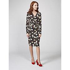 Joe Browns Amazing Print Wrap Style Dress