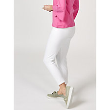Women with Control No Outer Seam Tummy Control Ankle Trousers