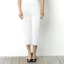 Kim & Co No Side Seam Crop Trouser