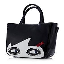 Lulu Guinness Wanda Doll Face Handbag