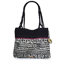 The Sakroots Artist Circle Crochet Shopper Bag
