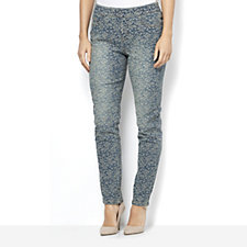 Women with Control My Wonder Denim Jacquard Pull On Jean