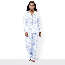 Carole Hochman PJ Set with Contrast Piping