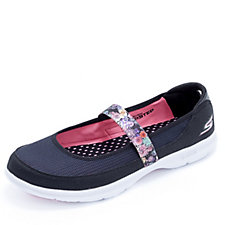 Skechers GO STEP Floral Mary Jane Shoe with Goga Mat Technology