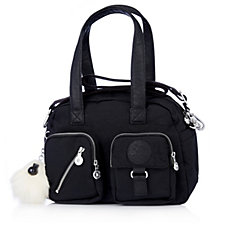 Kipling Defea Premium Padded DH Shoulder Bag with Monkey Charm