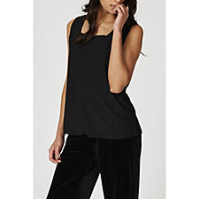Antthony Designs Sleeveless Square Neck Top