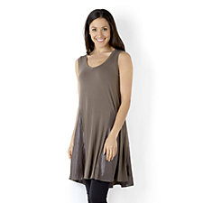 Join Clothes Sleeveless Top with Lux Godets