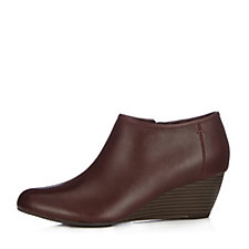 Clarks Brielle Abbey Wedge Bootie Wide Fit