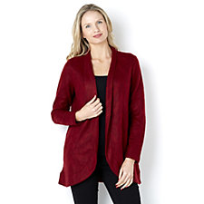 156452 - LOGO by Lori Goldstein Knit Cardigan