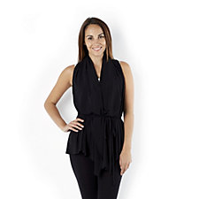 Attitudes by Renee Joy Multi Wear Sleeveless Jacket