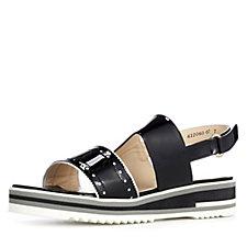 Peter Kaiser Platform Sandal with Wedge Heel