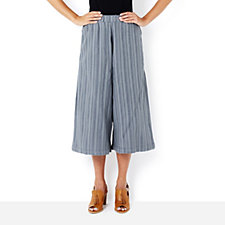 Join Clothes Wide Leg Cropped Trousers