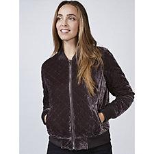 Rino & Pelle Velvet Bomber Jacket