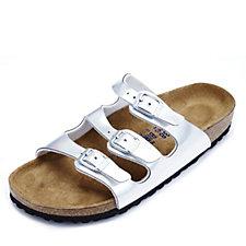Birkenstock Florida Mirror Metallic Triple Strap Sandal