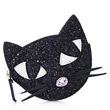 160753 - Lulu Guinness Kooky Cat Glitter Coin Purse