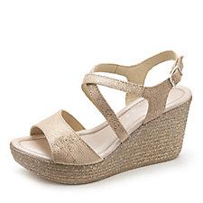 161853 - Easy'n Rose Wedge Crossover Sandal